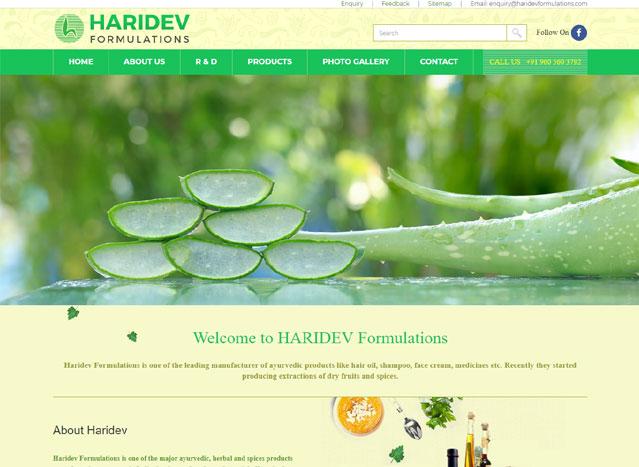 Haridev Formulations