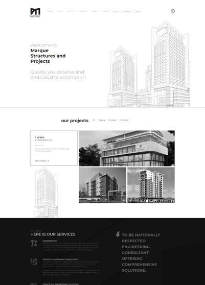 Marque Structures and Projects